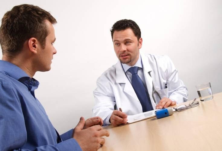 разговор с врачом на счет крови в сперме