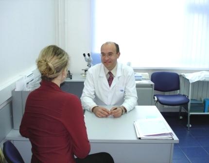 консультация у врача после переливания