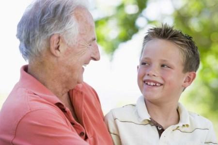 кровь одинакова у деда и внука