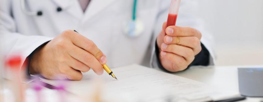 разница результатов анализа крови