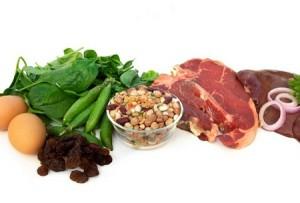 Продукты для повышения уровня железа в крови