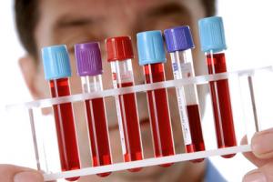 Анализ крови на горею