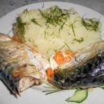 Варёная рыба