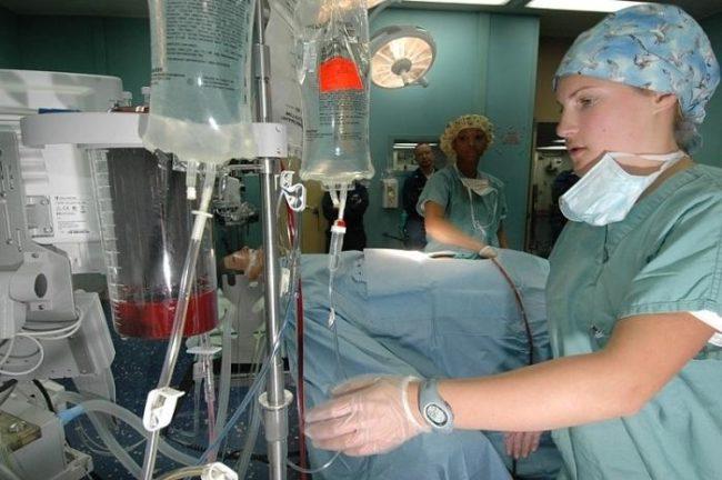Лечение гемотрансфузионного шока