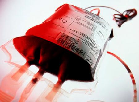 Консервированная донорская кровь