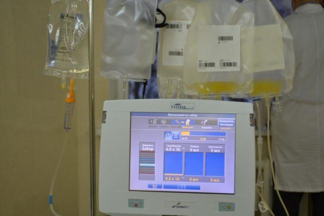 Процедура тромбоцитафереза