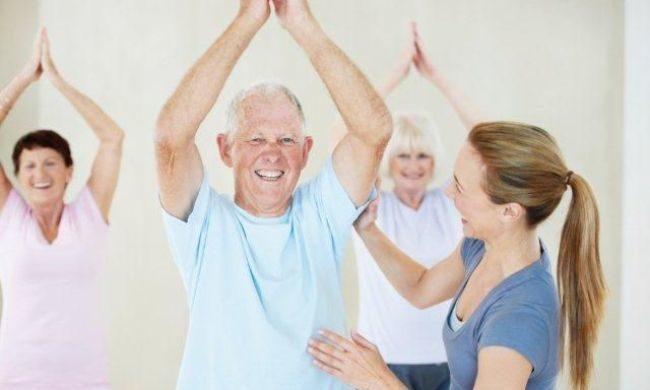 Йога в пожилом возрасте