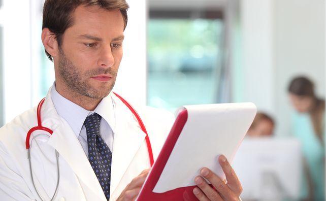 Анализ у врача