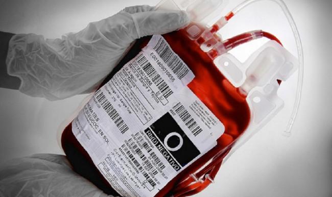 Пакет с кровью